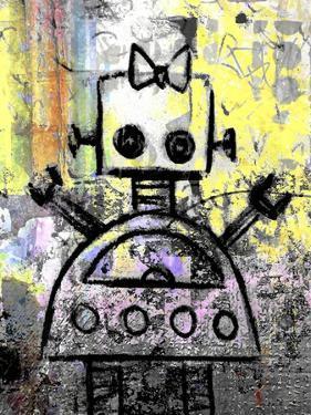 Girl Robot Color by Roseanne Jones