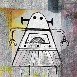 Girly Robot by Roseanne Jones