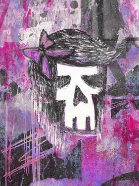 Girly Skull Princess by Roseanne Jones