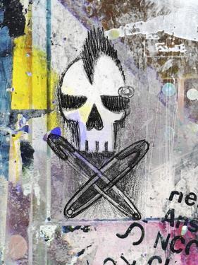 Punk Skull by Roseanne Jones