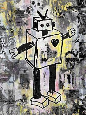 Robot Graffiti Color by Roseanne Jones