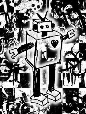 Robot Graffiti by Roseanne Jones