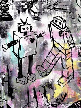 Robot Love Color by Roseanne Jones
