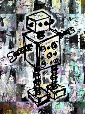 Sketched Robot Color by Roseanne Jones