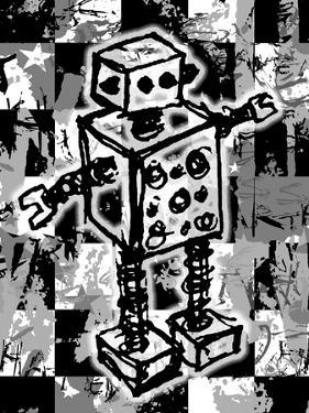 Sketched Robot by Roseanne Jones
