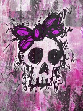 Sketched Skull Princess by Roseanne Jones