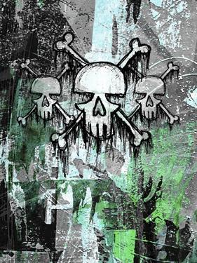 Triple Skulls by Roseanne Jones
