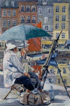 Painter and His Wife, Honfleur