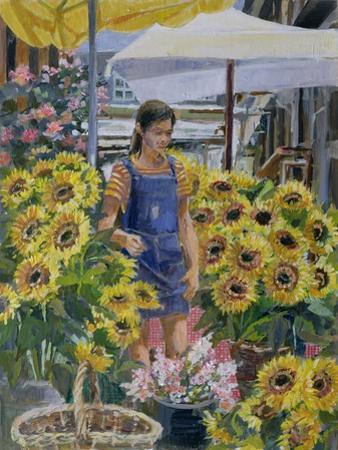 The Sunflower Seller