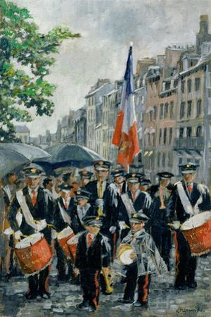 Town Hall Band, 14th July, Honfleur, France, 1997