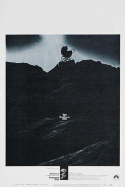 ROSEMARY'S BABY, US poster, Mia Farrow, 1968