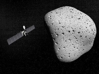 https://imgc.allpostersimages.com/img/posters/rosetta-probe-and-comet-67p-churyumov-gerasimenko_u-L-PRRMOX0.jpg?artPerspective=n
