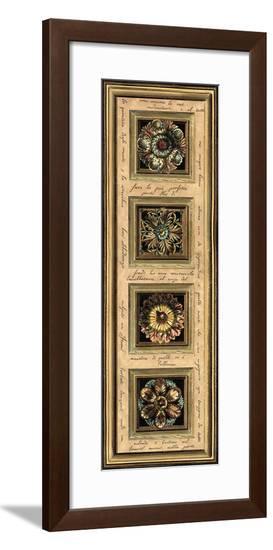 Rosette Panel I--Framed Giclee Print