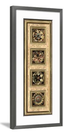 Rosette Panel II--Framed Giclee Print