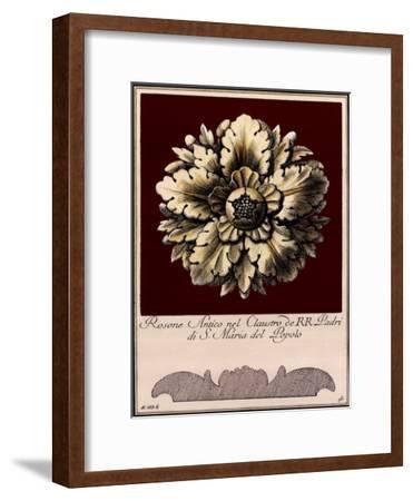 Rosone Antico II--Framed Art Print