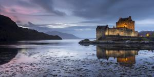 Eilean Donan Castle, Loch Duich, Western Highlands, Scotland by Ross Hoddinott