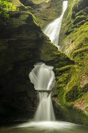 St Nectan'S Kieve, A Sixty Foot Waterfall, Saint Nectan'S Glen by Ross Hoddinott