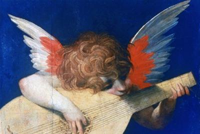 Angel Musician, C1520 by Rosso Fiorentino