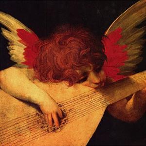 Musical Angel by Rosso Fiorentino (Battista di Jacopo)