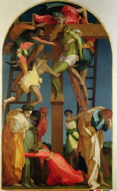 The Descent from the Cross, 1521 by Rosso Fiorentino (Battista di Jacopo)
