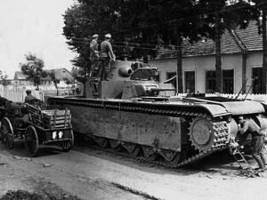 WWII Soviet Tanks in Ukraine 1941 by Roth