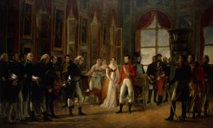 Napoleon Receiving the Senators and Declaring Himself Emperor, 18th May 1804 by Rouget