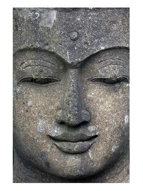 Rough Stone Buddha Face