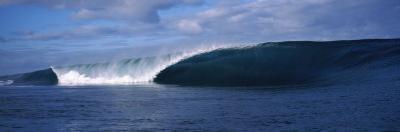 Rough Waves in the Sea, Tahiti, French Polynesia