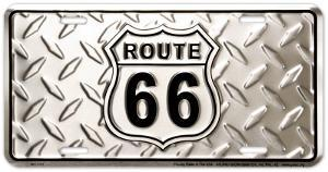 Route 66 Diamond Plate