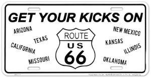 Route 66 Kicks B&W