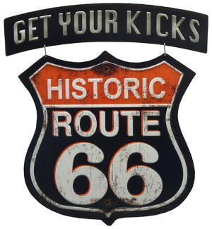 Route 66 Linked Sign