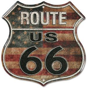 Route 66 Stars And Stripes