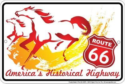 Route 66 the Horse