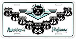 Route 66 V Shields