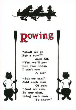 Rowing Poem About Cats