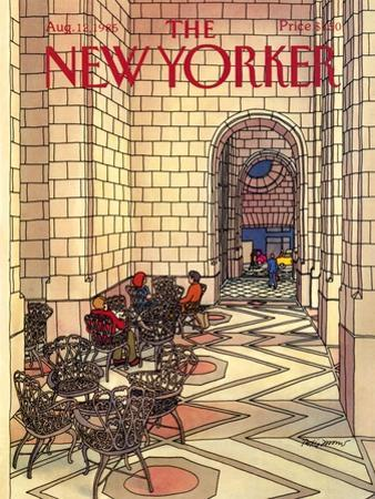 The New Yorker Cover - August 12, 1985 by Roxie Munro