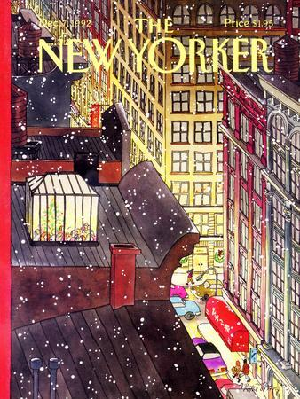 The New Yorker Cover - December 7, 1992
