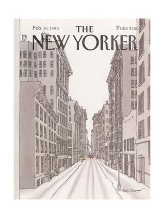 The New Yorker Cover - February 10, 1986