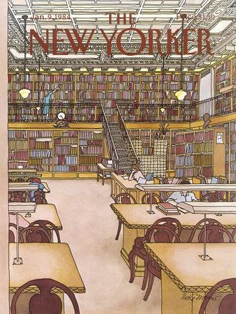 The New Yorker Cover - January 9, 1984
