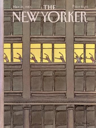 The New Yorker Cover - March 21, 1983
