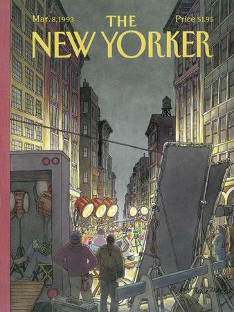 The New Yorker Cover - March 8, 1993
