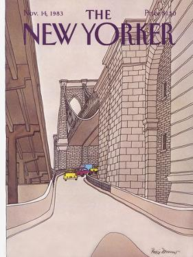 The New Yorker Cover - November 14, 1983 by Roxie Munro