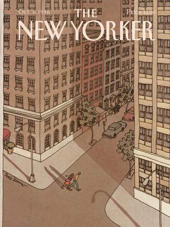 The New Yorker Cover - October 6, 1986