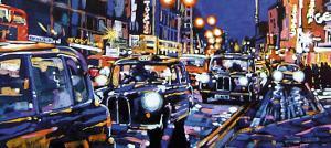 Black Cabs, London by Roy Avis