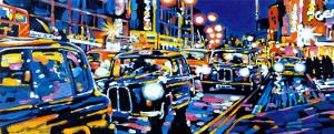 Black Cabs, London by Roy Avis