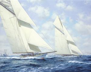 America's Cup IV by Roy Cross