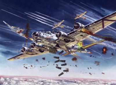 B26 Bomber Flying Fortress (UK Bomber) by Roy Cross
