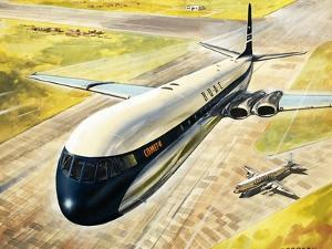 Boac's Comet 4 Passenger Aircraft by Roy Cross