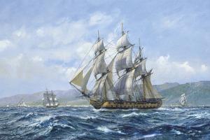 HMS Agamemnon Tolilon, Nelsons Favourite by Roy Cross