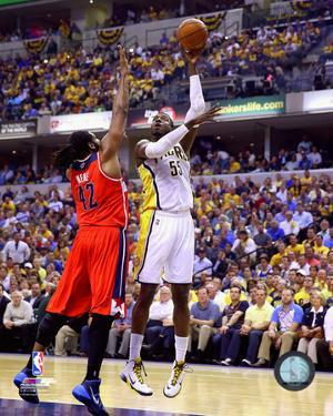 Roy Hibbert 2013-14 Playoff Action